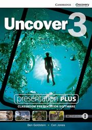 Uncover 3 Presentation Plus, Goldstein Ben, Jones Ceri
