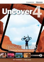 Uncover 4 Presentation Plus DVD, Goldstein Ben, Jones Ceri