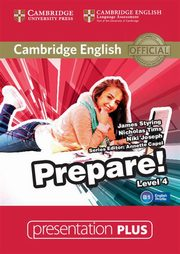 ksiazka tytuł: Cambridge English Prepare! 4 Presentation Plus DVD autor: Styring James, Tims Nicholas, Joseph Niki