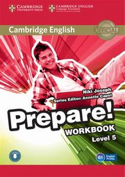 Cambridge English Prepare! 5 Workbook, Joseph Niki