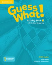 Guess What! 6 Activity Book with Online Resources, Rivers Susan