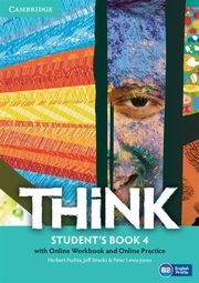 Think Level 4 Student's Book with Online Workbook and Online Practice, Puchta Herbert, Stranks Jeff, Lewis-Jones Peter