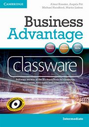 Business Advantage Intermediate Classware DVD, Almut Koester, Pitt Angela