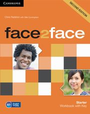 face2face Starter Workbook with Key, Redston Chris, Cunningham Gillie