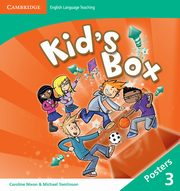 Kid's Box Level 3 Posters (8), Nixon Caroline, Tomlinson Michael