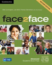 face2face Advanced Student's Book with DVD-ROM and Online Workbook Pack, Cunningham Gillie, Bell Jan, Clementson Theresa, Redston Chris