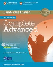 Complete Advanced Workbook without Answers with Audio CD, Matthews Laura, Thomas Barbara