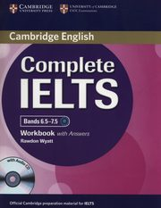 Complete IELTS Bands 6.5-7.5 Workbook with Answers + CD, Wyatt Rawdon
