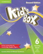 Kid's Box Second Edition 6 Activity Book with Online Resources, Nixon Caroline, Tomlinson Michael