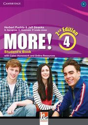 More! Level 4 Student's Book with Cyber Homework and Online Resources, Puchta Herbert, Stranks Jeff, Gerngross Günter, Holzmann Christian, Lewis-Jones Peter