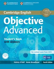 Objective Advanced Student's Book with answers + CD, O'Dell Felicity, Broadhead Annie