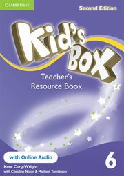 Kid's Box Second Edition 6 Teacher's Resource Book + online audio, Cory-Wright Kate, Nixon Caroline, Tomlinson Michael