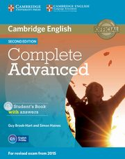 Complete Advanced Student's Book with Answers + CD, Brook-Hart Guy, Haines Simon
