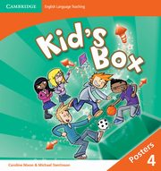 Kid's Box Level 4 Posters 4, Nixon Caroline, Tomlinson Michael