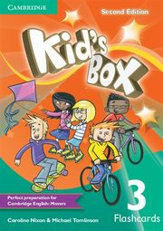 Kid's Box Second Edition 3 Flashcards, Nixon Caroline, Tomlinson Michael