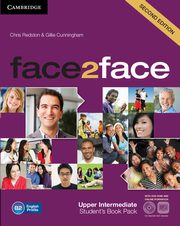 face2face Upper Intermediate Student's Book with online workbook +DVD, Redston Chris, Cunningham Gillie