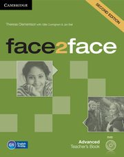 face2face Advanced Teacher's Book + DVD, Clementson Theresa, Cunningham Gillie, Bell Jan