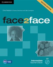 face2face Intermediate Teacher's Book + DVD, Redston Chris, Clementson Theresa, Cunningham Gillie