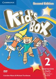 ksiazka tytuł: Kid's Box Second Edition 2 Interactive DVD (NTSC) with Teacher's Booklet autor: Nixon Caroline, Tomlinson Michael, Elliott Karen