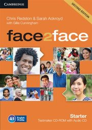 face2face Starter Testmaker CD-ROM and Audio CD, Redston Chris, Ackroyd Sarah, Cunningham Gillie