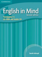 English in Mind Level 4 Testmaker CD-ROM and Audio CD, Ackroyd Sarah