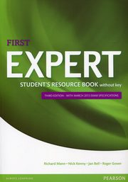 First Expert Student's Book Resource without key, Mann Richard, Kenny Nick, Bell Jan, Gower Roger