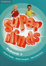 Super Minds Level 3 Flashcards (Pack of 83), Puchta Herbert, Gerngross Gunter, Lewis-Jones Peter