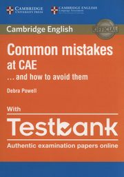 ksiazka tytuł: Common Mistakes at CAE with Testbank autor: Powell Debra