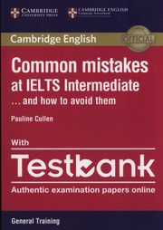Common Mistakes IELTS intermediate with Testbank, Cullen Pauline