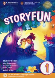 Storyfun for Starters 1 Student's Book with Online Activities and Home Fun Booklet 1, Saxby Karen