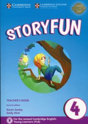 Storyfun 4 Teacher's Book with Audio, Saxby Karen, Hird Emily