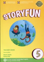 Storyfun 5 Teacher's Book with Audio, Saxby Karen, Hird Emily