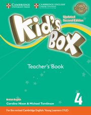 Kids Box 4 Teacher?s Book, Frino Lucy, Williams Melanie, Nixon Caroline, Tomlinson Michael