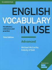 English Vocabulary in Use Advanced with answers,