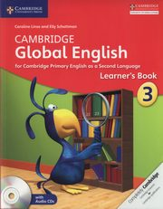 Cambridge Global English 3 Learner's Book + CD, Linse Carline, Schottman Elly