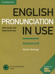 English Pronunciation in Use Advanced Experience with downloadable audio, Hewings Martin