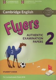 ksiazka tytuł: Cambridge English Flyers 2 Student's book autor: