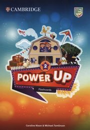 ksiazka tytuł: Power Up Level 2 Flashcards (Pack of 180) autor: Nixon Caroline, Tomlinson Michael