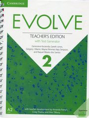 Evolve Level 2 Teacher's Edition with Test Generator, Kocienda Genevieve, Jones Gareth, Manin Gregory J., Rimmer Wayne, Simpson Katy, Santos Raquel Ribeiro dos