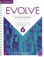 Evolve 6 Teacher's Edition with Test Generator, Kocienda Genevieve, Bourke Kenna, Flores Carolyn Clarke, Rimmer Wayne, Robertson Lynne